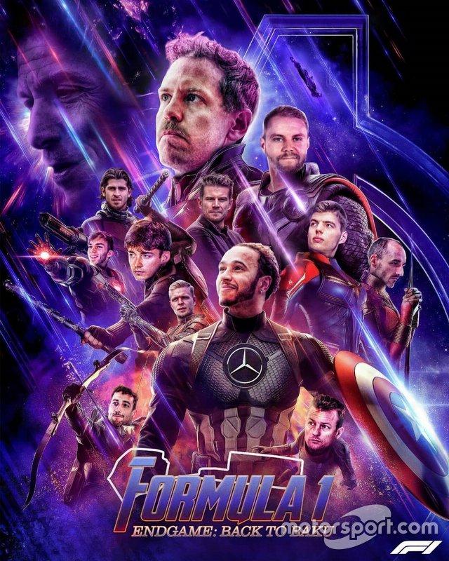 Постер «Мстителей» Ф1