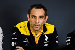 Cyril Abiteboul, Managing Director, Renault F1 Team In the Press Conference