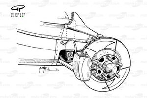 Ferrari 312B2 arka fren