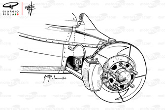 Ferrari 312B2 rear brakes