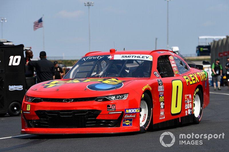Garrett Smithley, JD Motorsports, Chevrolet Camaro Flex Tape