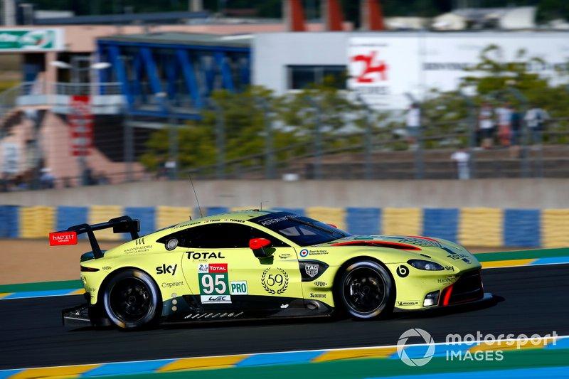 GTE-Pro: #95 Aston Martin Racing, Aston Martin Vantage AMR