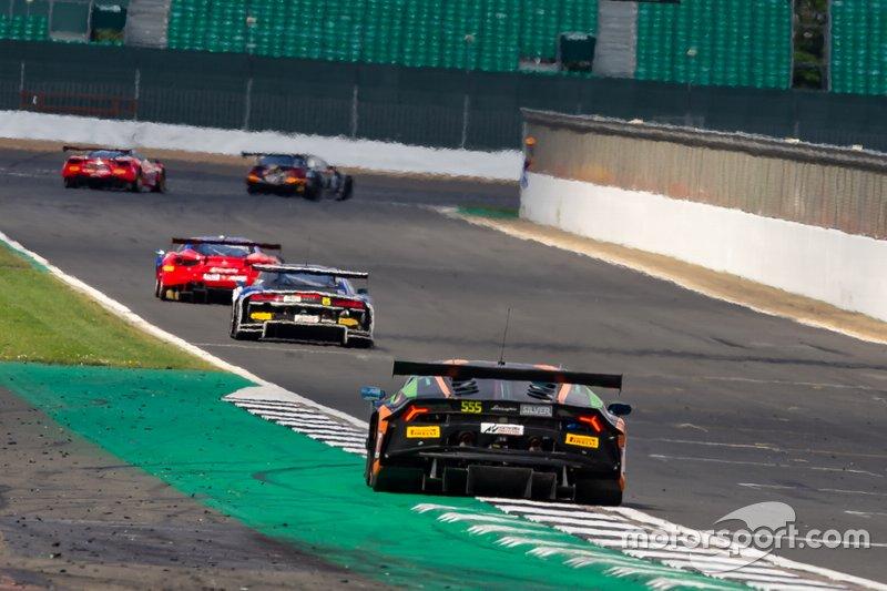 555 Orange 1 Fff Racing Team Lamborghini Huracan Gt3 2019 Michele