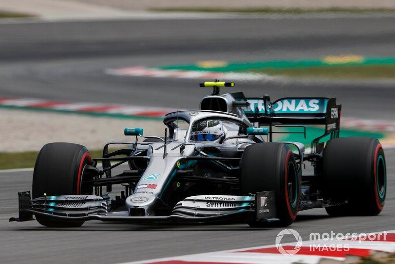Valtteri Bottas - Mercedes: 8 puan