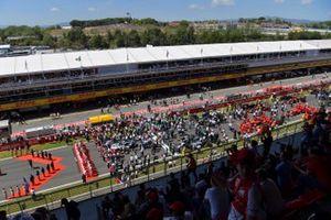 Yarış öncesi grid