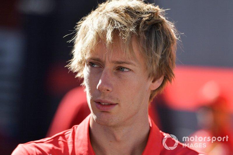 Brendon Hartley, pilote de développement Ferrari