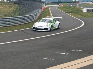 Rudy van Buren test Porsche Supercup