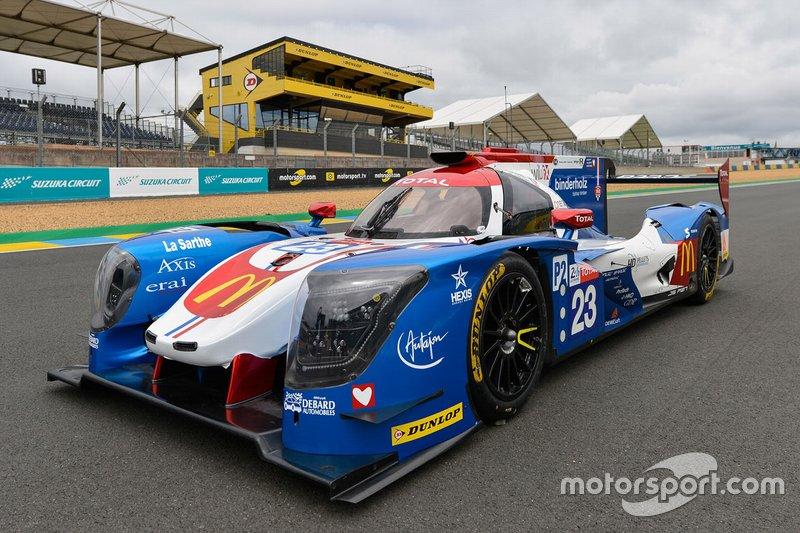 LMP2: #23 Panis Barthez Competition, Ligier-Gibson JS P217