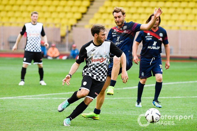 Pierre Gasly, Red Bull Racing plays football