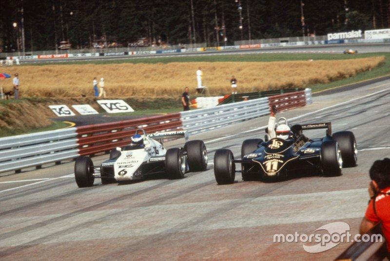 4. GP de Austria de 1982 - Elio de Angelis vs Keke Rosberg (0.05)