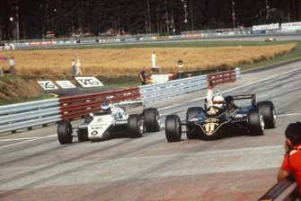 Elio de Angelis, Lotus and Keke Rosberg, Williams