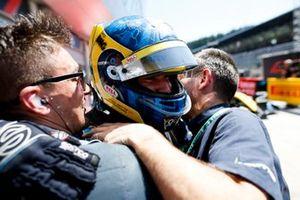 Race winner Sergio Sette Camara, DAMS