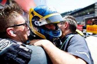 Il vincitore della gara Sergio Sette Camara, DAMS