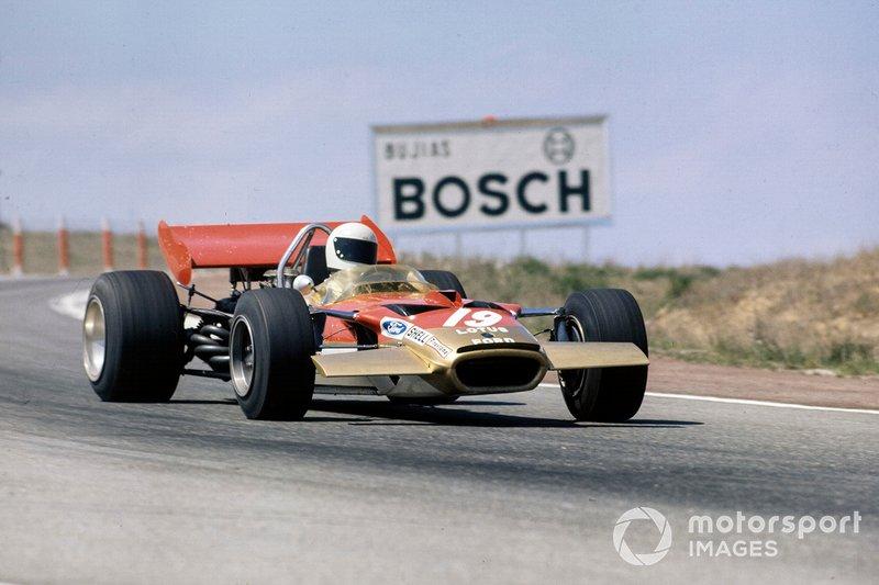 John Miles, Lotus 72 Ford