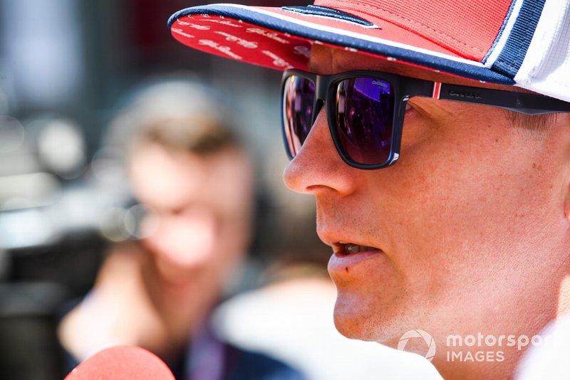 Kimi Raikkonen, Alfa Romeo Racing parla ai media