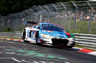 #4 Audi Sport Team Phoenix Audi R8 LMS: Pierre Kaffer, Frank Stippler, Frédéric Vervisch, Dries Vanthoor