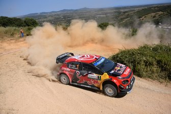Sébastien Ogier, Julien Ingrassia, Citroën World Rally Team Citroën C3 WRC