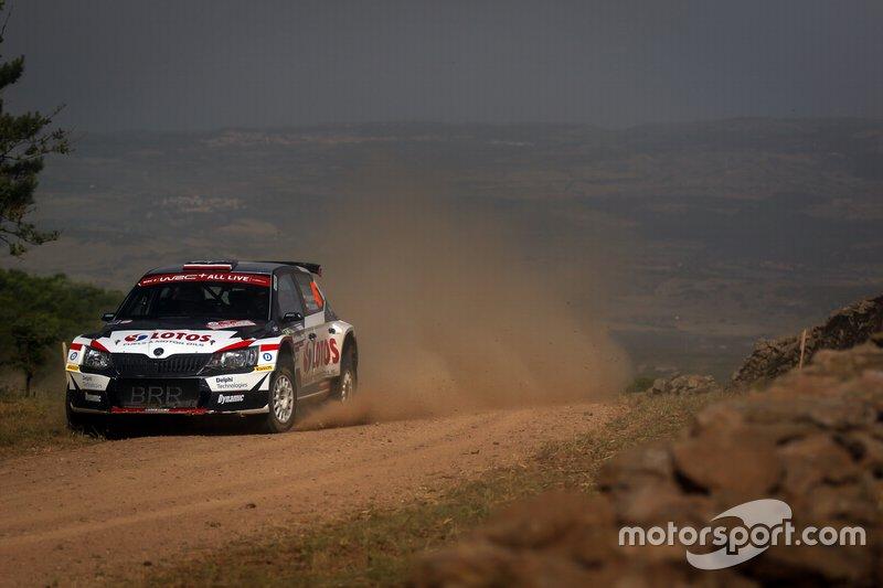 Kajetan Kajetanowicz, Maciej Szczepaniak, Skoda Fabia R5, WRC 2