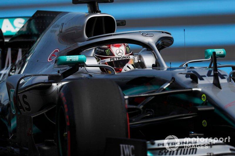 1: Lewis Hamilton, Mercedes AMG F1 W10, 1'28.319