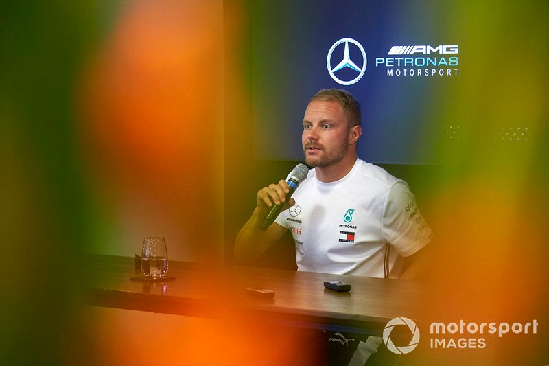 Valtteri Bottas, Mercedes AMG F1, at a Press Conference