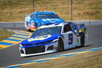 Chase Elliott, Hendrick Motorsports, Chevrolet Camaro NAPA AUTO PARTS, Ryan Blaney, Team Penske, Ford Mustang PPG