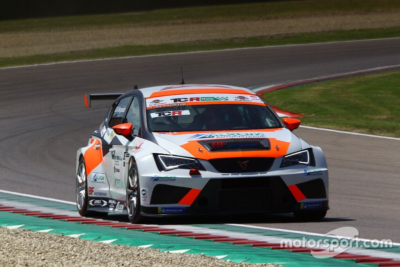 Matteo Bergonzini, BF Motorsport, Cupra TCR DSG