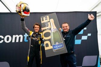 Pole position Gilles Magnus, Comtoyou Racing Audi RS 3 LMS