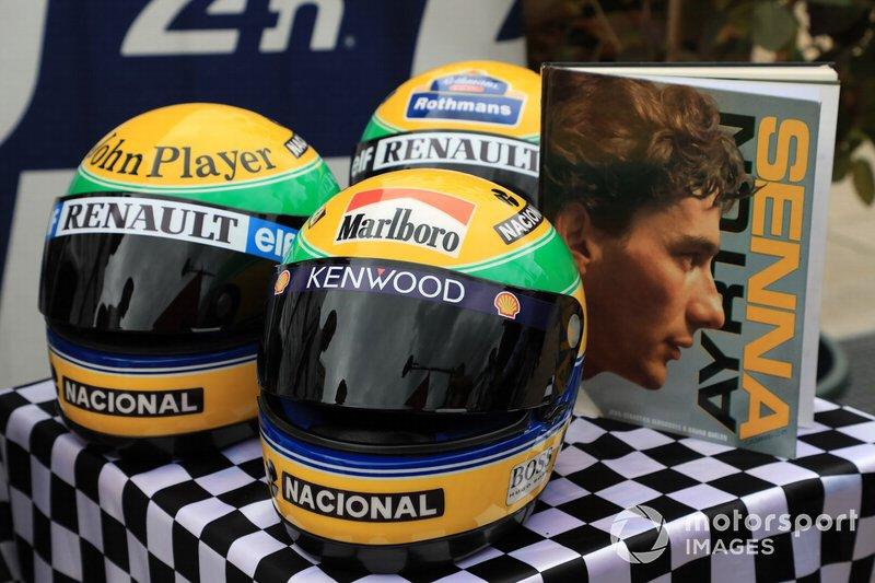 Capacetes de Ayrton Senna
