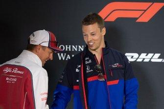 Daniil Kvyat, Toro Rosso, Kimi Raikkonen, Alfa Romeo Racing