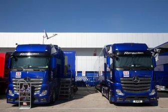 Yamaha race trucks