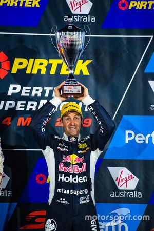 Podium: second place Jamie Whincup, Triple Eight Race Engineering