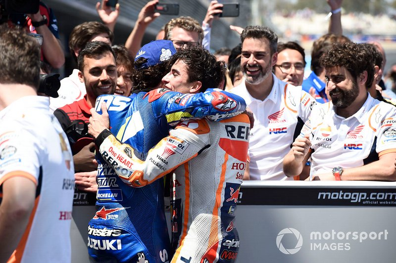 Alex Rins, Team Suzuki MotoGP, Marc Marquez, Repsol Honda Team