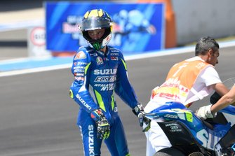 Joan Mir, Team Suzuki MotoGP after his crash