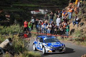 Lukasz Habaj, Daniel Dymurski, Skoda Fabia R5, Rally Islas Canarias, FIA ERC