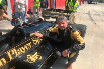 El Lotus 97T de Ayrton Senna