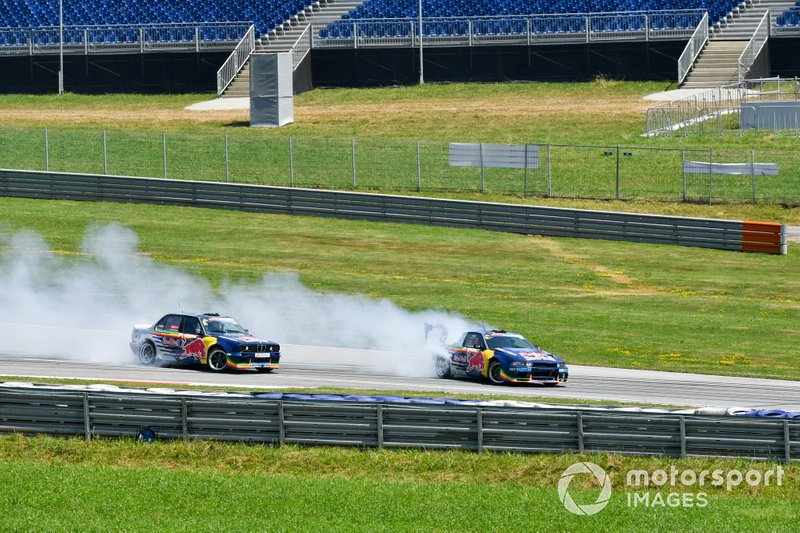 Une démonstration Red Bull Drift Brothers