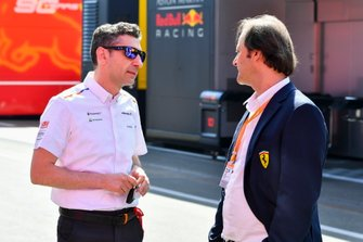 Andrea Stella, Race Engineer, McLaren
