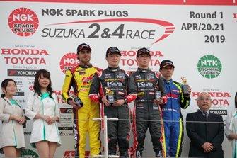 F3鈴鹿Rd2表彰台