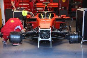 Ferrari SF90 in the garage