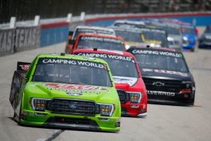 Todd Gilliland, Front Row Motorsports, Ford F-150 Speedy Cash, Tanner Gray, Team DGR, Ford F-150 Ford Performance