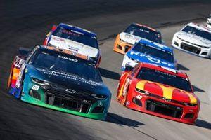 Daniel Suarez, TrackHouse Racing, Chevrolet Camaro CommScope, Ross Chastain, Chip Ganassi Racing, Chevrolet Camaro McDonald's