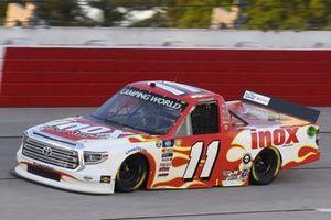 #11: Spencer Davis, Spencer Davis, Toyota Tundra Inox Supreme Lubricants