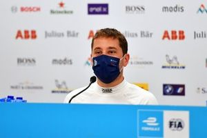 Robin Frijns, Envision Virgin Racing, 2nd position, in the Press Conference