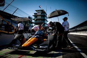 Patricio O'Ward, Arrow McLaren SP Chevrolet crew