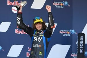 Podio: Marco Bezzecchi, Sky Racing Team VR46