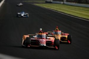 Marco Andretti, Andretti Herta-Haupert w/Marco & Curb-Agajanian Honda, Ryan Hunter-Reay, Andretti Autosport Honda