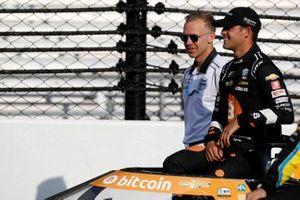 Rinus VeeKay, Ed Carpenter Racing Chevrolet and team owner Ed Carpenter