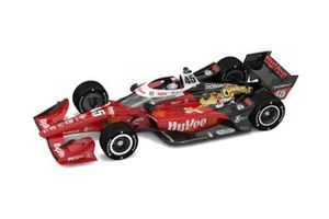 La livrée de la monoplace de Santino Ferrucci, Rahal Letterman Lanigan Racing Honda