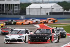 Tyler Reddick, Jordan Anderson Racing, Chevrolet Camaro Bommarito Automotive Group, Harrison Burton, Joe Gibbs Racing, Toyota Supra DEX Imaging