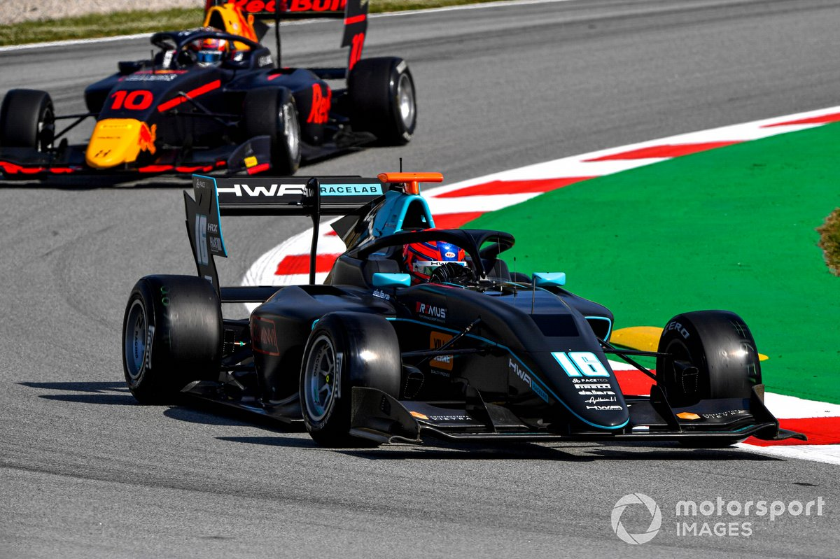 Rafael Villagomez, HWA Racelab